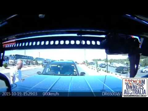 """""""No, you reversed into me"""" - Lying driver caught out on Dash Cam"""