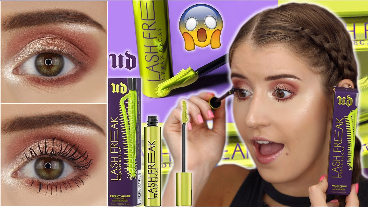 NEW! URBAN DECAY COSMETICS LASH FREAK MASCARA 😱 OMG!!