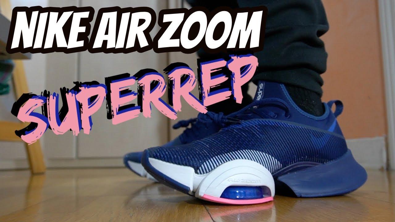 zapatillas nike hombre air zoom superrep