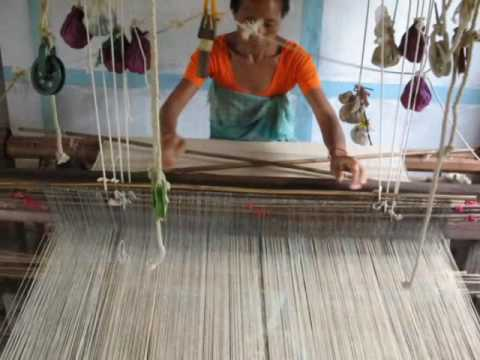 Assam Peace (Eri) Silk Weavers and Nogaya