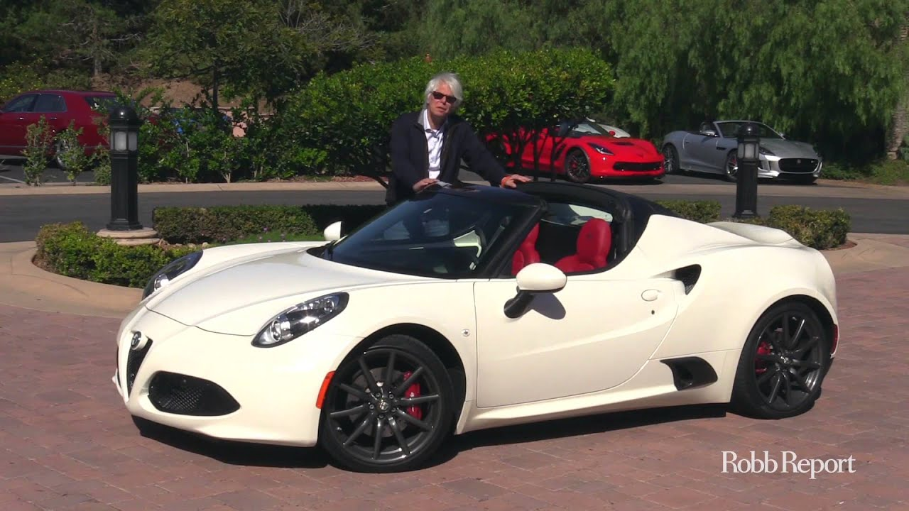 Car Of The Year 2016 13 Alfa Romeo 4c Spider