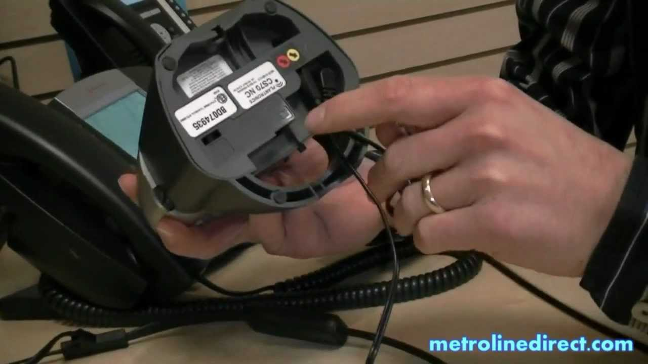 plantronics wireless headset how to install plantronics cs70n youtube rh youtube com Plantronics CS70 NC Plantronics CS70 NC