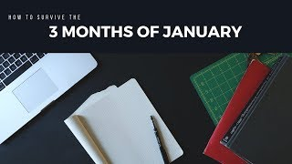 Surviving the 3 months of January - South Africa 2019