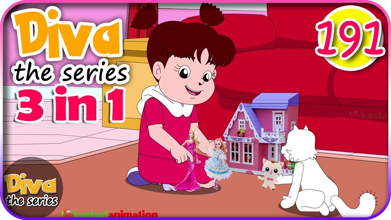 Seri Diva 3 in 1 | Kompilasi 3 Episode ~ Bagian 191 | Diva The Series Official