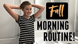 Our Family School Morning Routine! | Fall Edition 2018