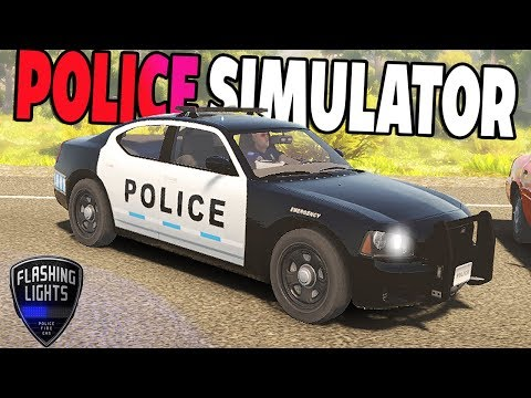 POLICE PURSUIT SIMULATOR! SPEED TRAPS, ARRESTS & MORE! - Flashing Lights Gameplay