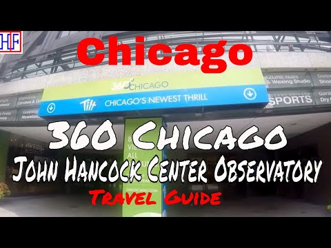 Chicago | 360 Chicago - John Hancock Center | Tourist Attractions | Episode# 12