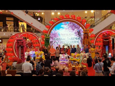"CNY 2018 ~ Launch of ""Dream Garden Of Prosperity"" @ Pavilion KL (4K UHD)"