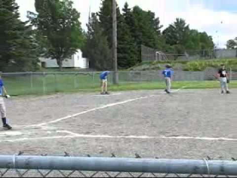 Baseball - Premier match d'Alexandre Chiasson