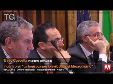 TG 01/02/2018 Ennio Cascetta - presidente di RAM spa