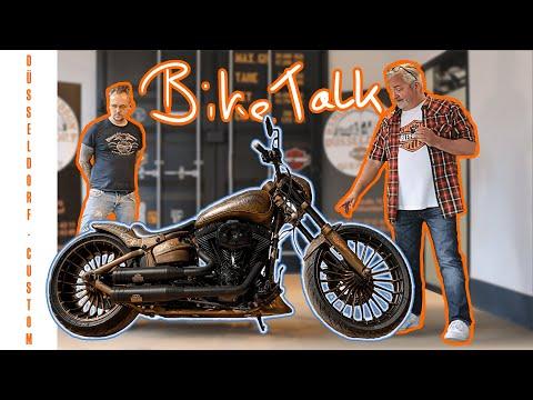 """Biketalk - Harley-Davidson Breakout - """"Malone"""" - Special Lackierung"""