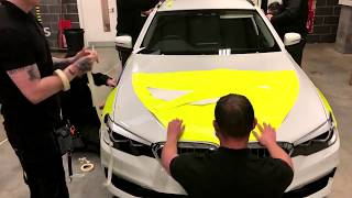 3M™ Diamond Grade™ DG³ Emergency Service Vehicle Bonnet Fitting Timelapse