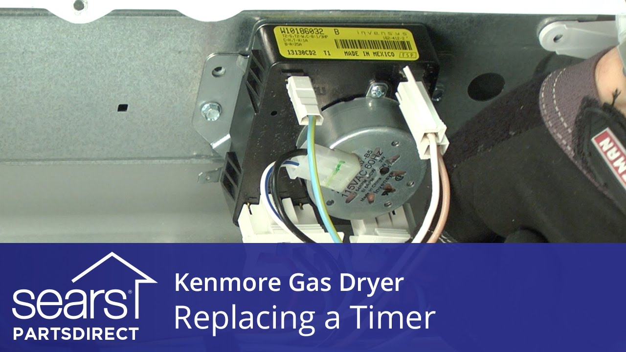 How to replace a dryer timer | Repair guide Kenmore Electric Dryer Timer Wiring Diagram on