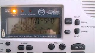 [MISSED] NOAA Weather Radio - EAS #501 - Administrative Message - 2/21/14 5:40 PM