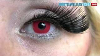 Red Color Contact Lenses Block Red