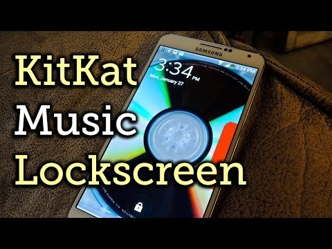Get the KitKat Music Lock Screen on Your Samsung Galaxy Note 3 [How-To]