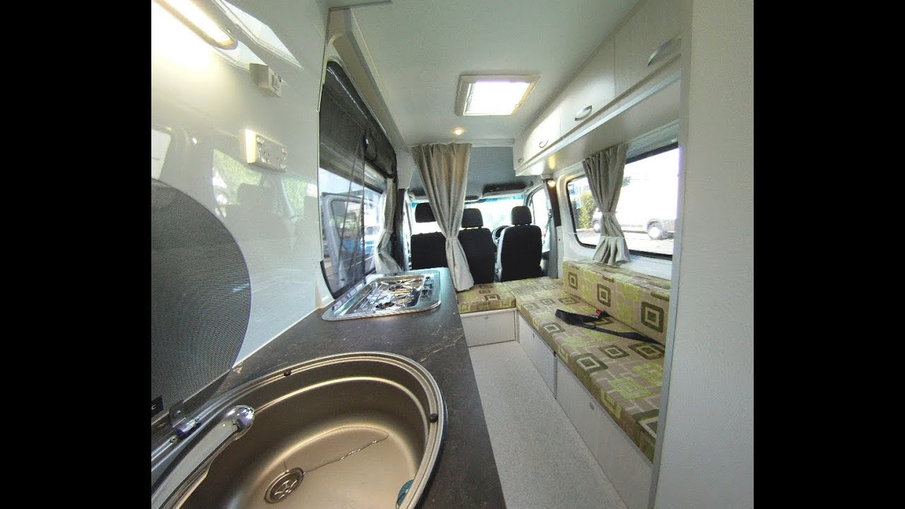 Custom Build Sprinter Motorhome Conversion By Southern Spirit Campervans