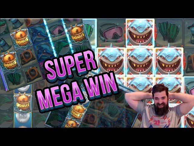Super Mega HiT on RAZOR SHARK!