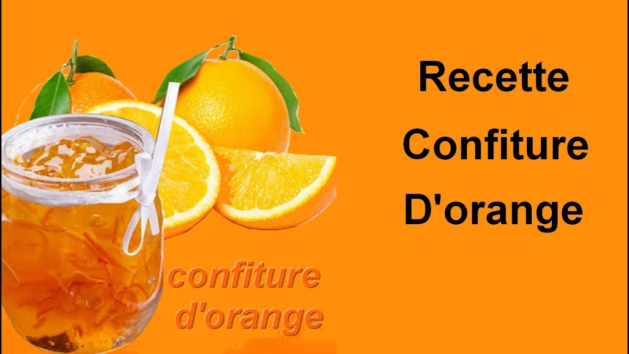 recette confiture d orange maison. Black Bedroom Furniture Sets. Home Design Ideas