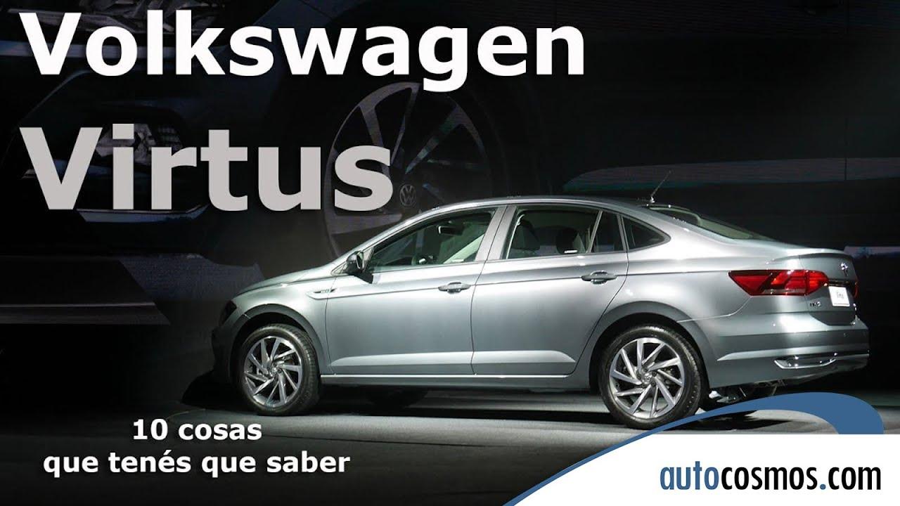 2019 Vw Jetta Gli >> Volkswagen Virtus: 10 cosas que tenés que saber   Autocosmos - YouTube