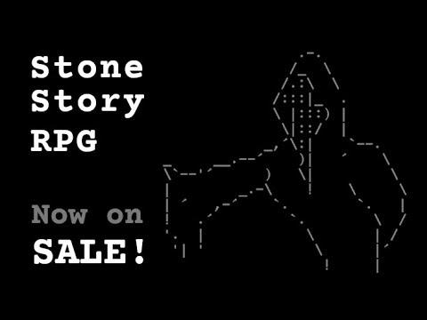 Stone Story, RPG в стиле ASCII, вышла в ранний доступ Steam