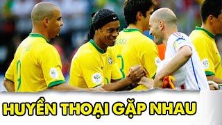 Trận đấu lịch sử toàn huyền thoại thế giới Ronaldo, Zidane, Ronaldinho, Roberto Carlos