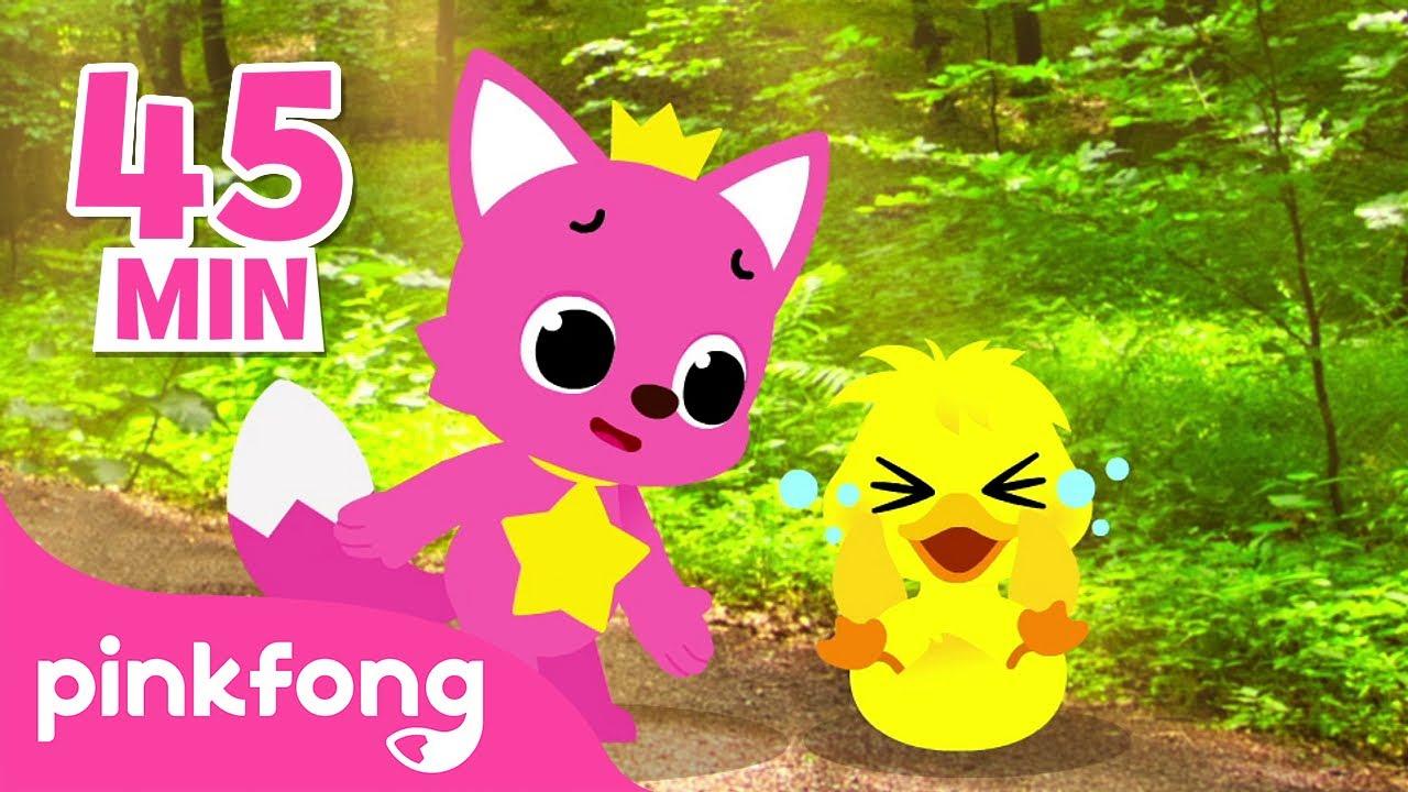 Todos los Patitos🦆 y más canciones infantiles | +Recopilación | Pinkfong Música Infantil