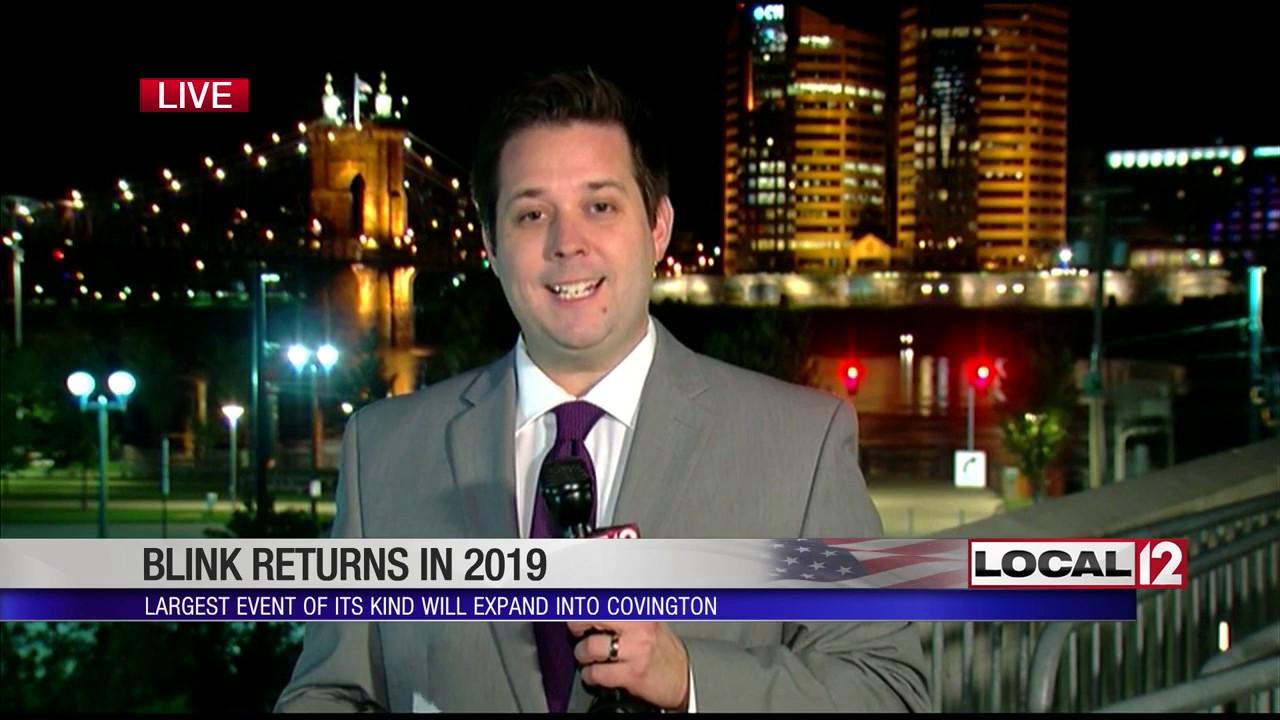 BLINK returning to Cincinnati, expanding into Covington in 2019