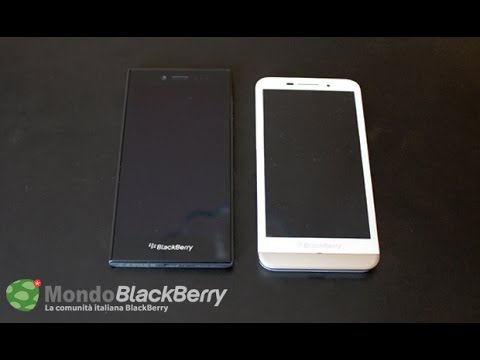 BlackBerry Leap VS BlackBerry Z30