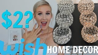 a very GLAM WISH HOME DECOR HAUL