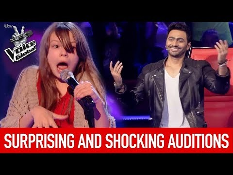 BEST Eminem auditions the voice all around the world..MUST WATCH!!!