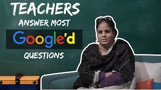 Teachers Answer Most Googled Questions | Teachers Day Special | Radio City