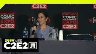 Amy Jo Johnson Spotlight   C2E2 2019   SYFY WIRE YouTube Videos