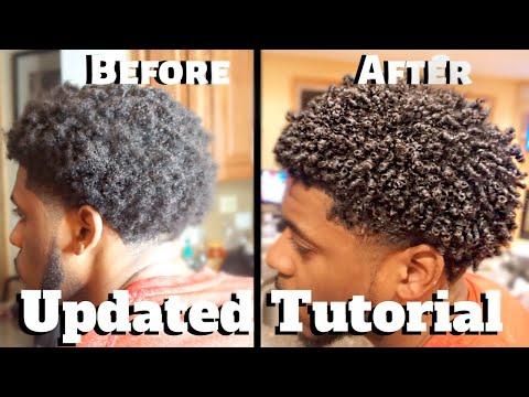Men's Curly Hair Tutorial Pt.2 | Define Curls Natural Hair