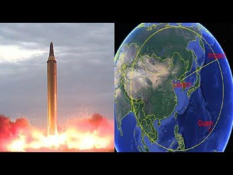 ÚLTIMA HORA 15/09/2017: Corea del Norte Lanza Nuevo Misil ICBM, atraviesa Japón y Cae en el Océano