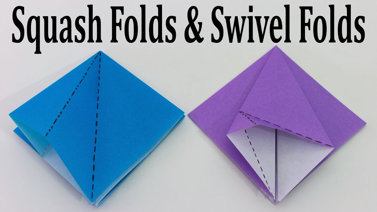 Origami Valley and Mountain Folds - How to make Origami Valley and ... | 720x1280