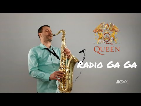 Queen - Radio Ga Ga Saxophone Cover by JK Sax