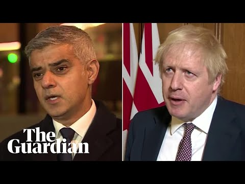 Sadiq Khan and Boris Johnson react to London Bridge attack