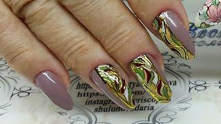 видео Дизайн ногтей: литье