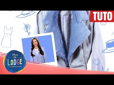 The Lodge - Tuto mode : Veste en fausse fourrure de Danielle