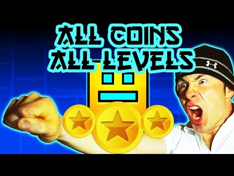 Geometry Dash ALL COINS, ALL LEVELS ~ Sung By DJ EricVanWilderman