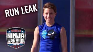 LEAKED RUN: Lauren Hotchkiss vs. Bryton Myler | American Ninja Warrior Junior | Universal Kids