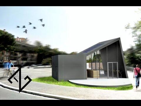 Concorso di idee per la progettazione di un chiosco bar a for Piani di idee di progettazione seminterrato