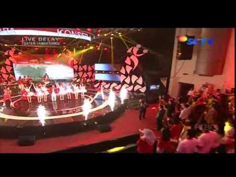 WALI Live At Konser Sea Games (14-11-2013) Courtesy SCTV