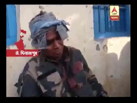 Police got injured while trying to caught a man at Raiganj