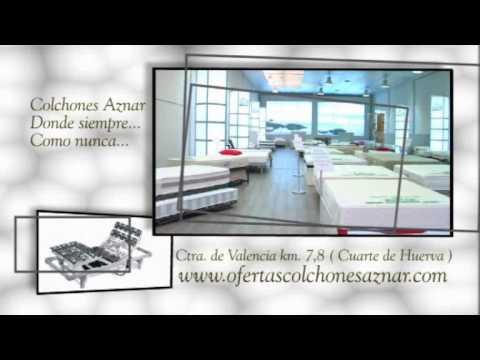 Colchones Aznar, Tu Tienda de Colchones en Zaragoza. - YouTube