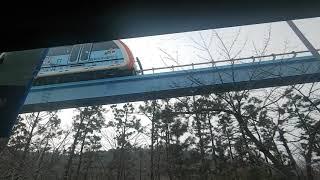 인천시내버스 동화운수 45번 저상 주행영상