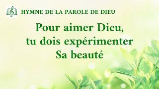 Musique chrétienne en français « Pour aimer Dieu, tu dois expérimenter Sa beauté »