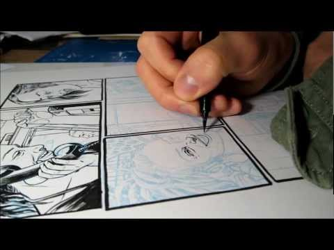 Salgood Sam | inking Dream Life up close, to god speed, x2 speed, in HD