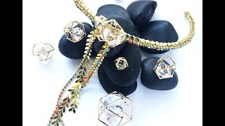 How-To Jewelry Video: Glitz Choker Necklace